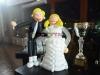 בלונים לחתונה עם פסל אנושי!