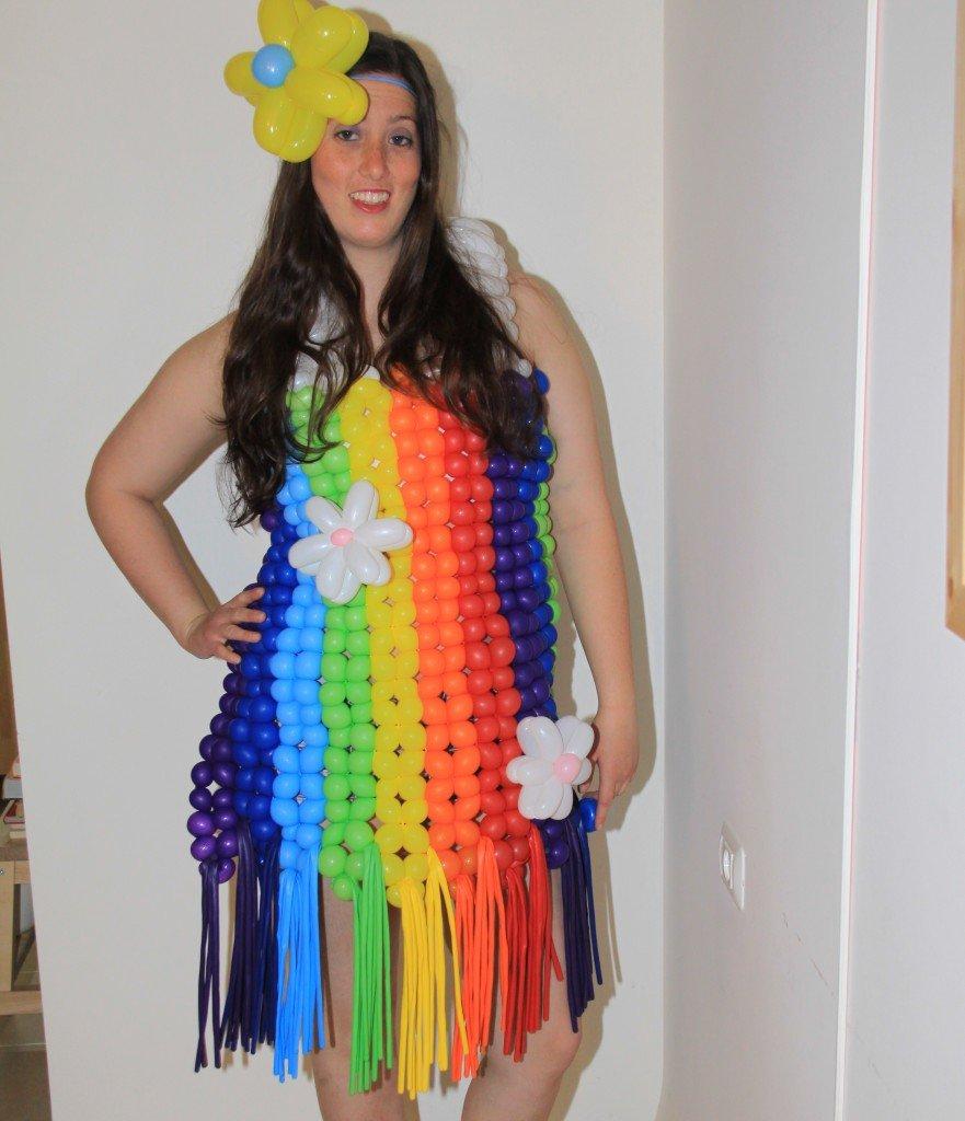 שמלת בלונים לחתונה בצפון!