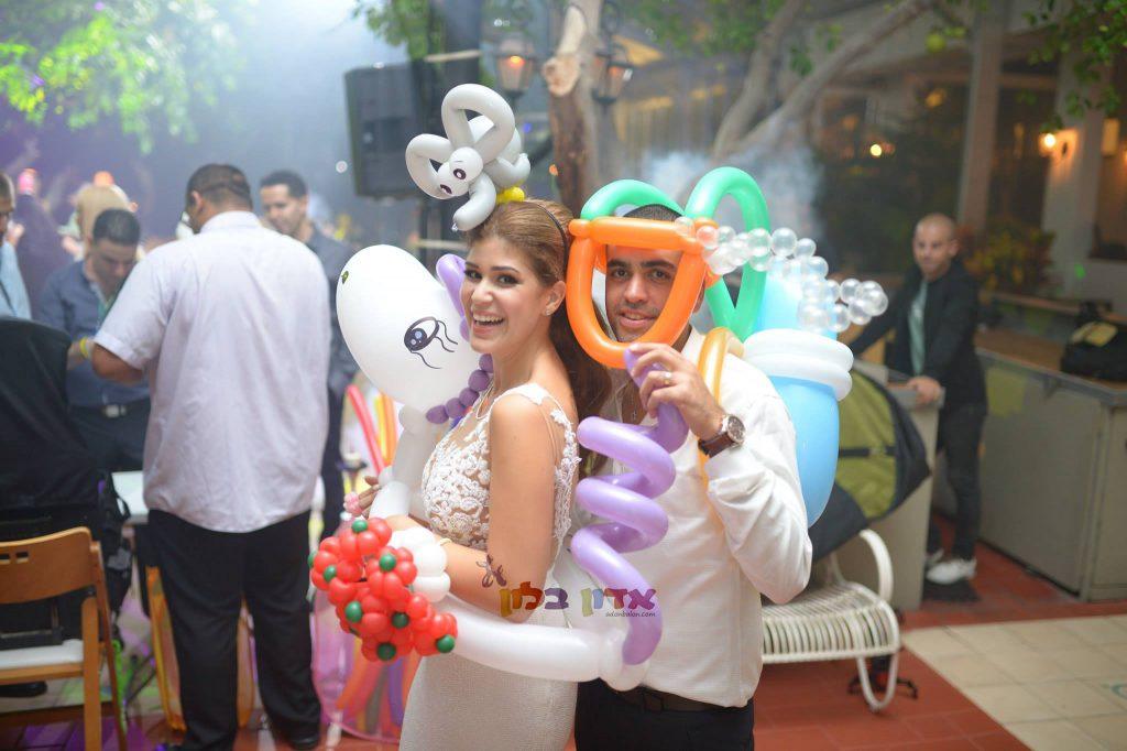 בלונים לחתונה! אדון בלון