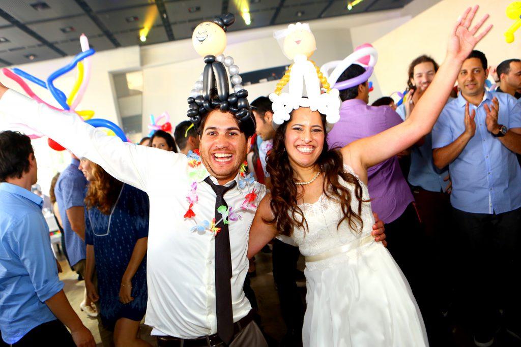 בלונים בחתונה שלכם! אמן!