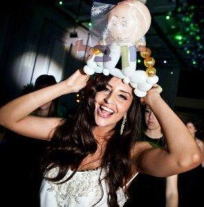לחתן ולכלה - בלונים לחתונה!