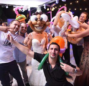 בלונים לחתונה שלכם!